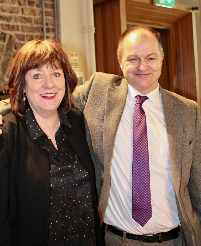 Geraldine Keehan and Augustus Cullen