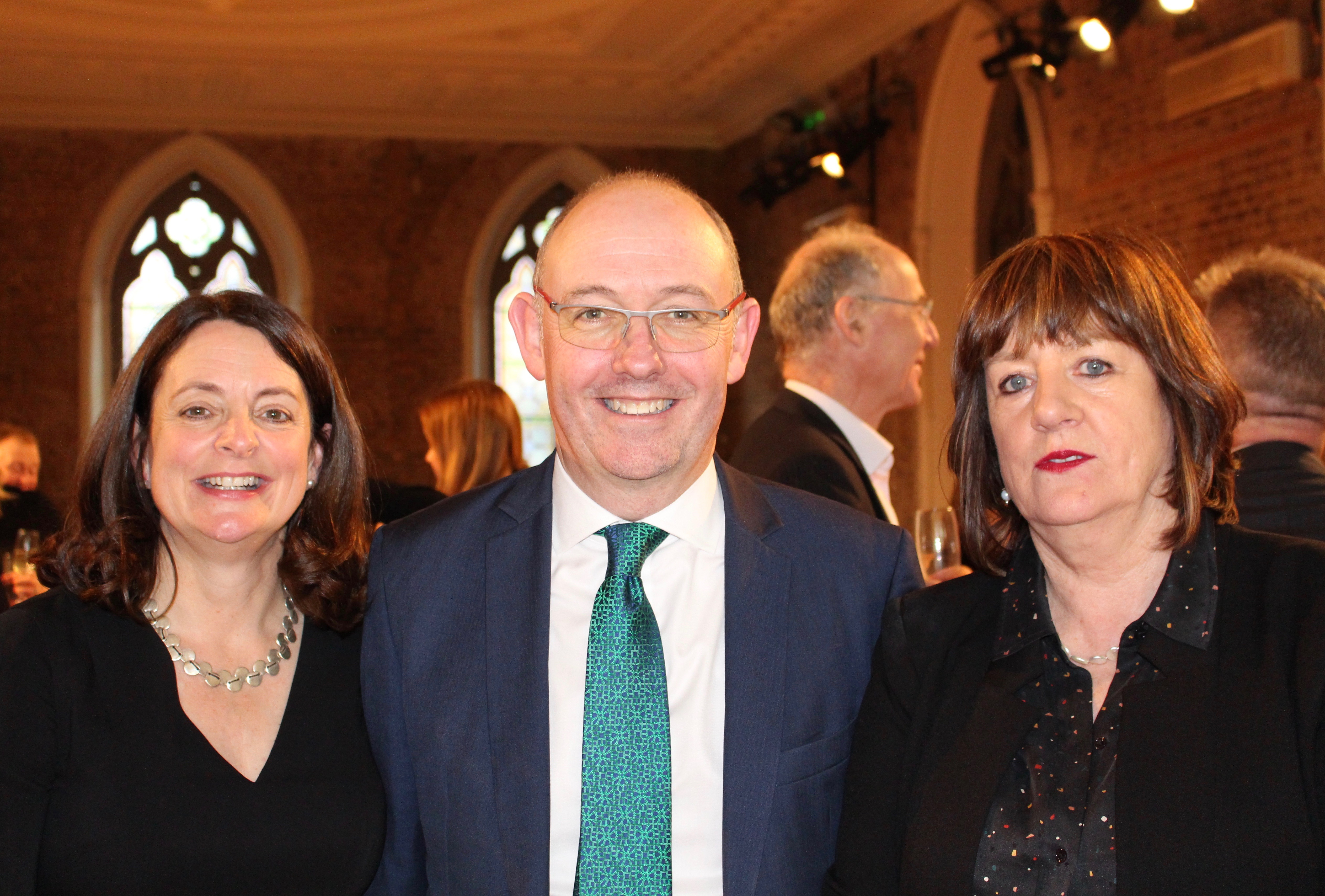 Head of Family Law, Karen O'Leary, Managing Partner, Philip Gilliland, and Head of the new Dublin office, Partner Geraldine Keehan.